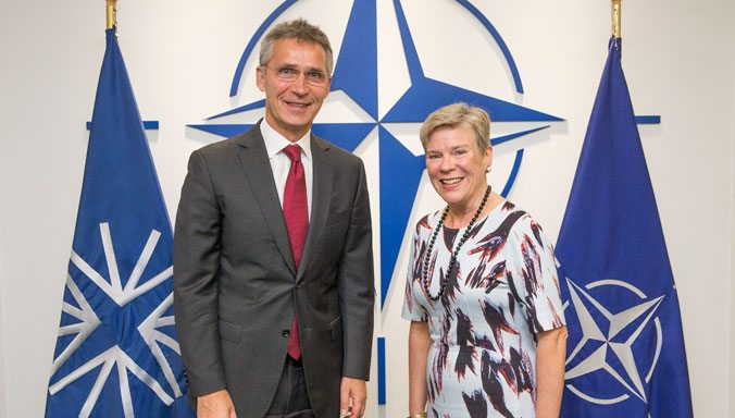 Rose Gottemoeller Takes Office as NATO Deputy Secretary General
