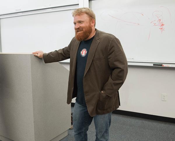 Professor Jesse Driscoll, GPS